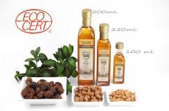 OLEJ ARGANOWY spożywczy, (EFAS), butelka szklana, 500 ml