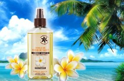 Thaitański Olej MONOI 50% FRANGIPANIER (kwiat lei), 100 ml do ciała i włosów