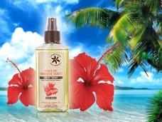 Thaitański Olej MONOI 50% HIBISCUS, 100 ml do ciała i włosów