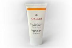 Krem arganowy intensywnie nawilżający i odżywiający na dzień, (Argaliss) 50 ml