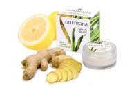 Balsam do ust imbir i trawa cytrynowa (Orientana), 8 g