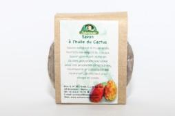 Mydło z olejem z opuncji figowej (Saharacactus), 80 g
