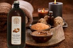 Olej arganowy kosmetyczny (Inwa Nature), butelka plastikowa, 1000 ml (EcoCert)