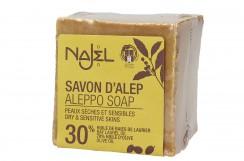 Mydło Aleppo 30% (Najel), 170 g